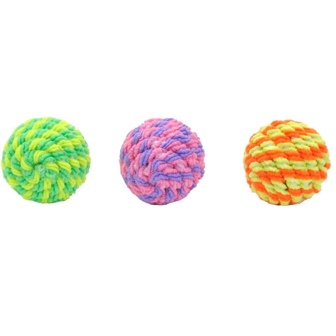 Turbo Rattle Balls Cat Toy, Assorted Colors