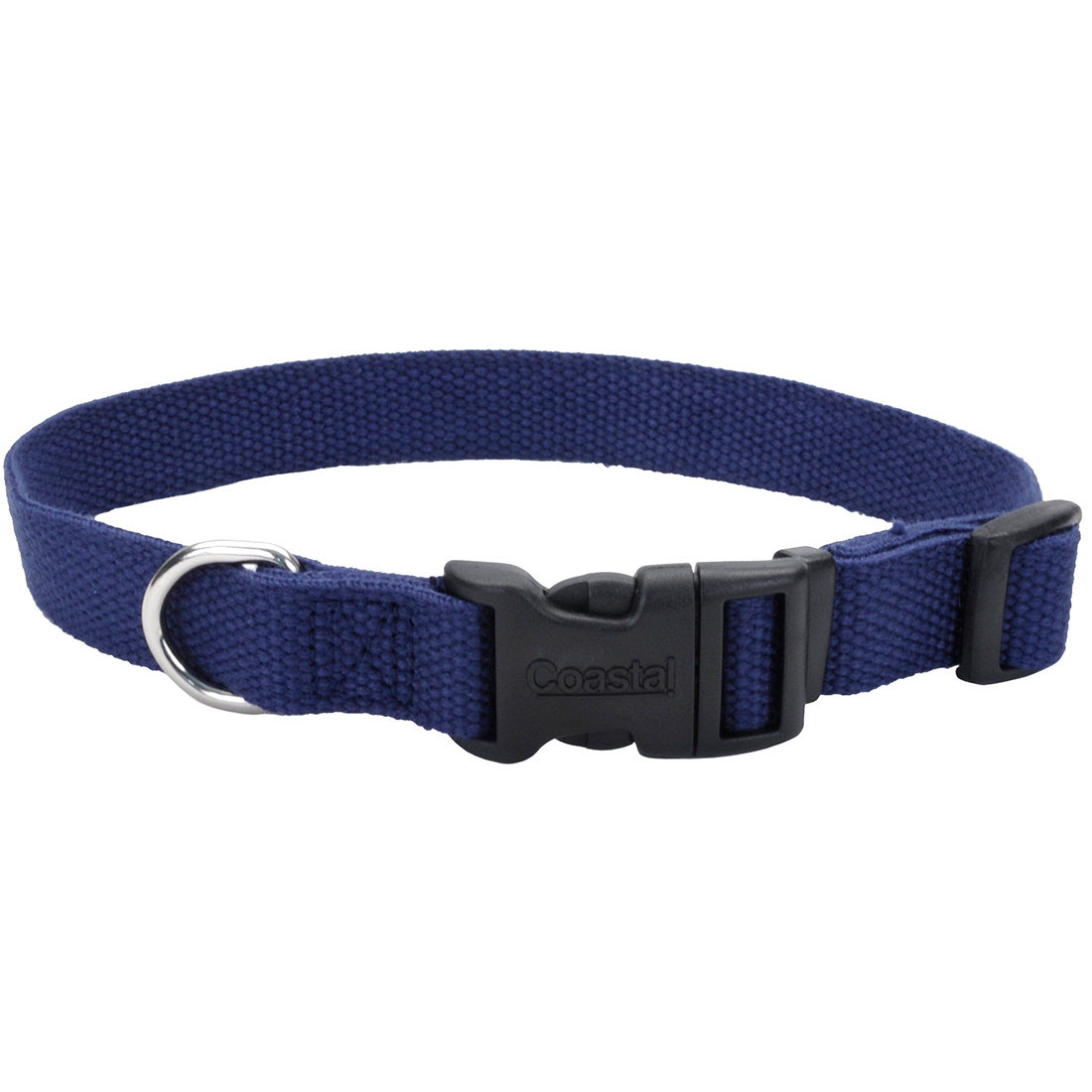 New Earth Soy Adjustable Dog Collar, Indigo Image