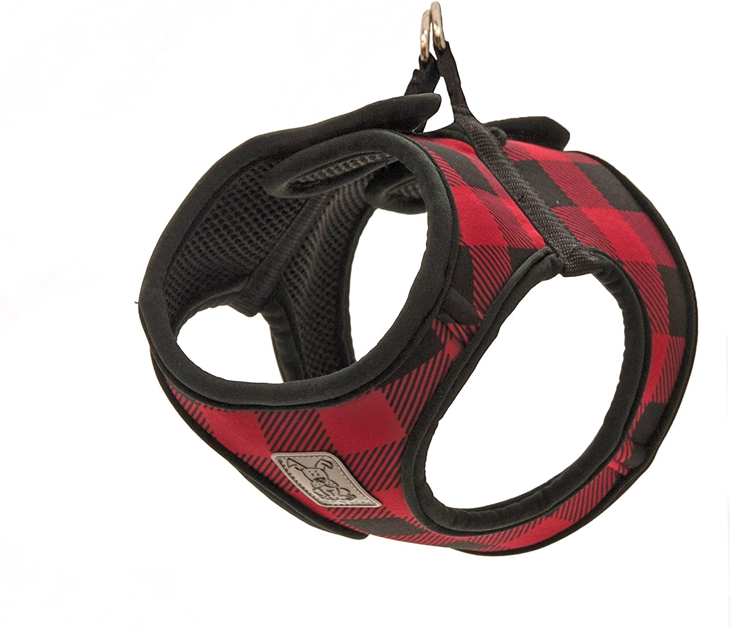 RC Pet Cirque Step In Harness, Red Check, Large