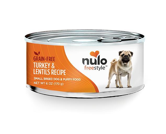 NULO Freestyle Small Breed Turkey & Lentils Recipe Canned Dog Food, 5.5-oz