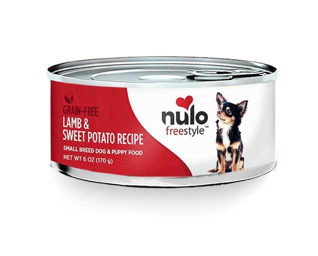 NULO Freestyle Small Breed Lamb & Sweet Potato Recipe Canned Dog Food, 5.5-oz