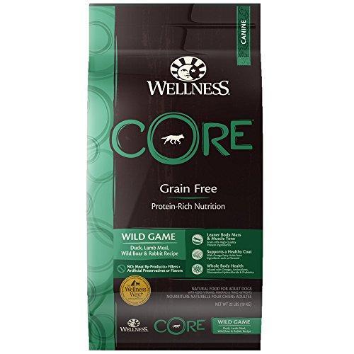 Wellness CORE Wild Game Recipe Grain-Free Dry Dog Food, 22-lb