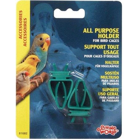 Living World Plastic All-Purpose Holder, 2-pack