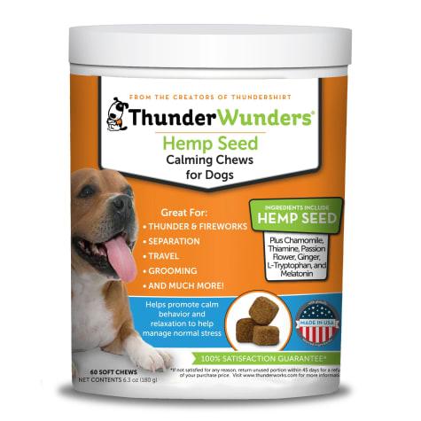 ThunderWunders Hempi Calming Chews, 60-count