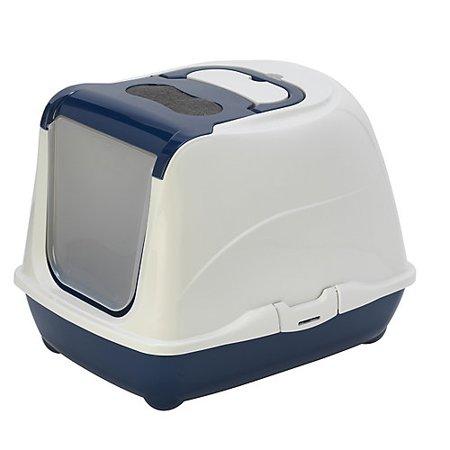 Moderna Flip Cat Litter Box, Blue Image