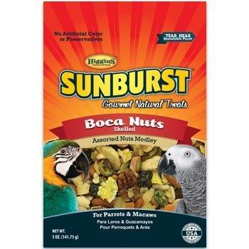 Higgins Sunburst Boca Nuts Bird Treat, 5-oz