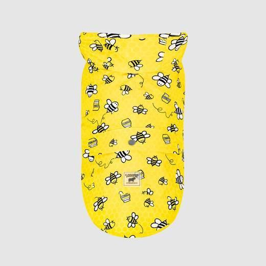 Canada Pooch Pick Me Poncho, Honeybee, 8-in