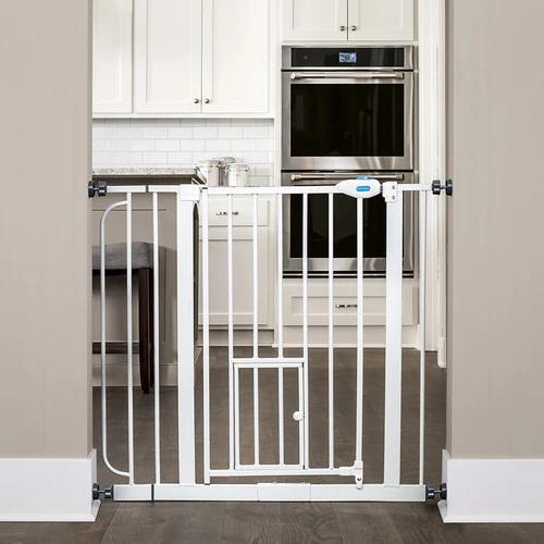 Carlson Tall Pet Gate with Extensions