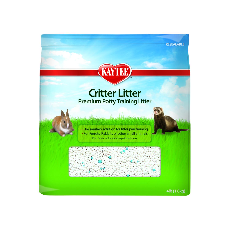 Kaytee Critter Litter Premium Potty Training Small Animal Litter, 4-lb bag