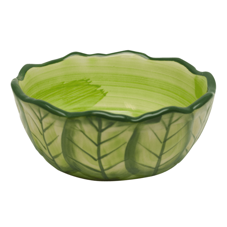Kaytee Vege-T Small Pet Bowl, Cabbage, 6-in, 16-oz