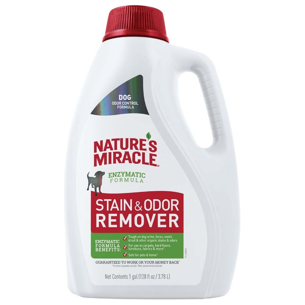 Nature's Miracle Dog Advanced Stain & Odor Remover, 1-gallon