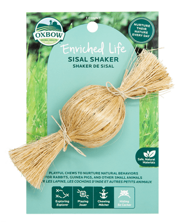Oxbow Enriched Life Sisal Shaker Image