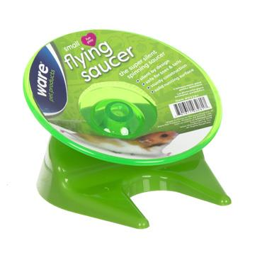 Ware Flying Saucer Small Pet Exercise Wheel, Small