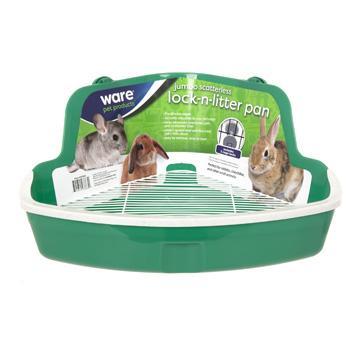 Ware Scatterless Lock-N-Litter Small Animal Pan, Jumbo