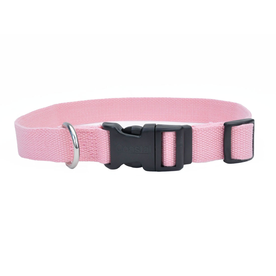 New Earth Soy Adjustable Dog Collar, Rose Image
