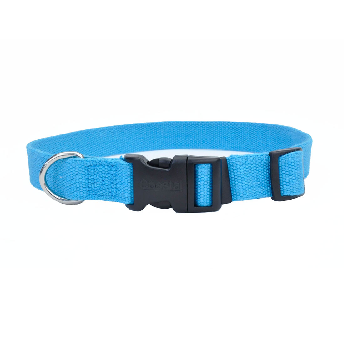 New Earth Soy Adjustable Dog Collar, Slate Image