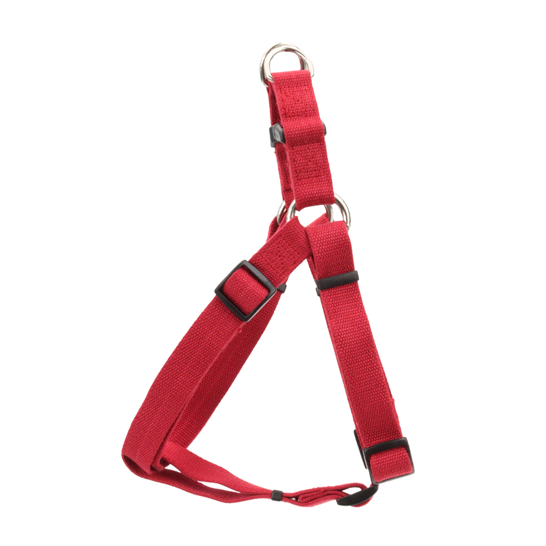 New Earth Soy Comfort Wrap Adjustable Dog Harness, Cranberry, 5/8-in X 16-24-in