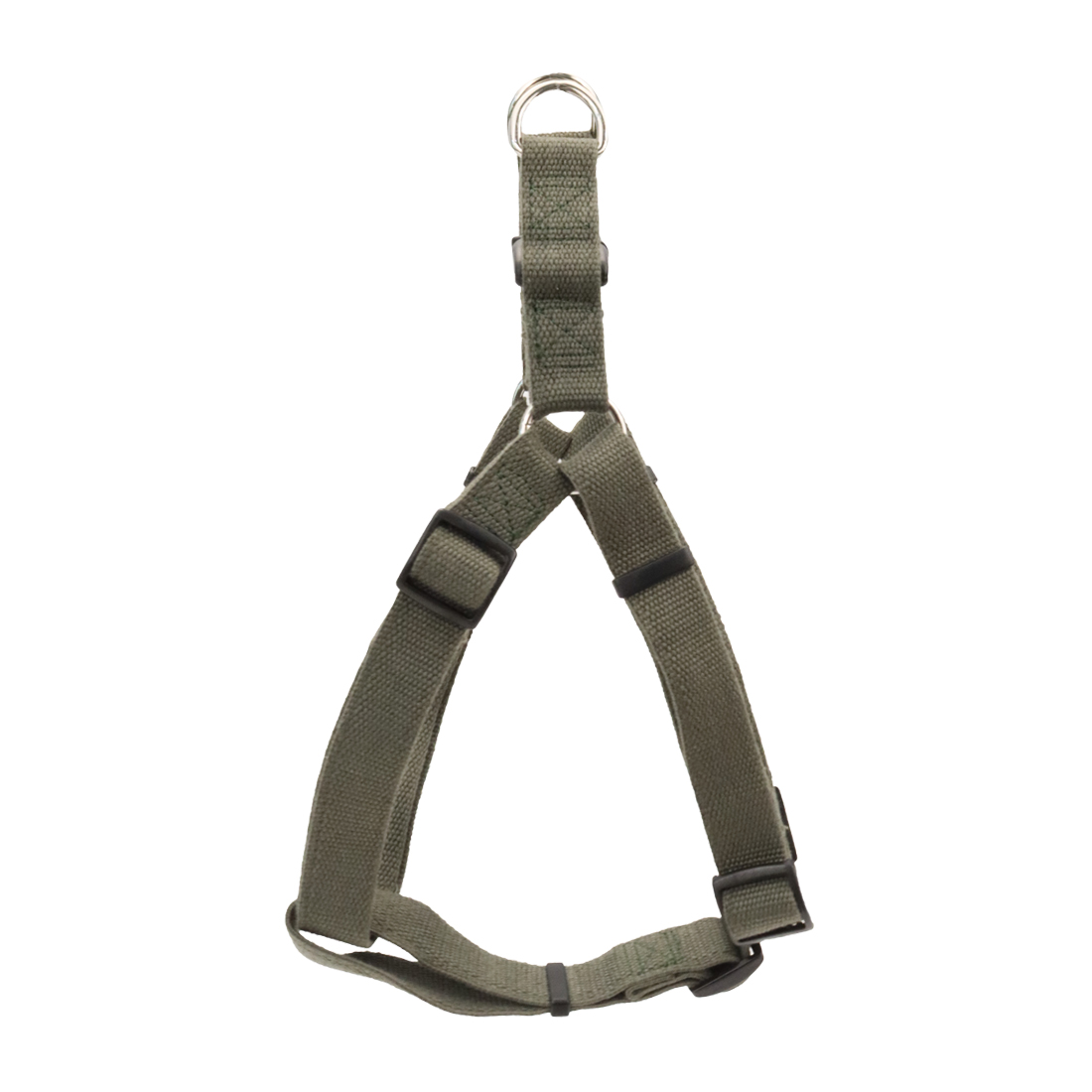 New Earth Soy Comfort Wrap Adjustable Dog Harness, Forest, 3/4-inx20-30-in