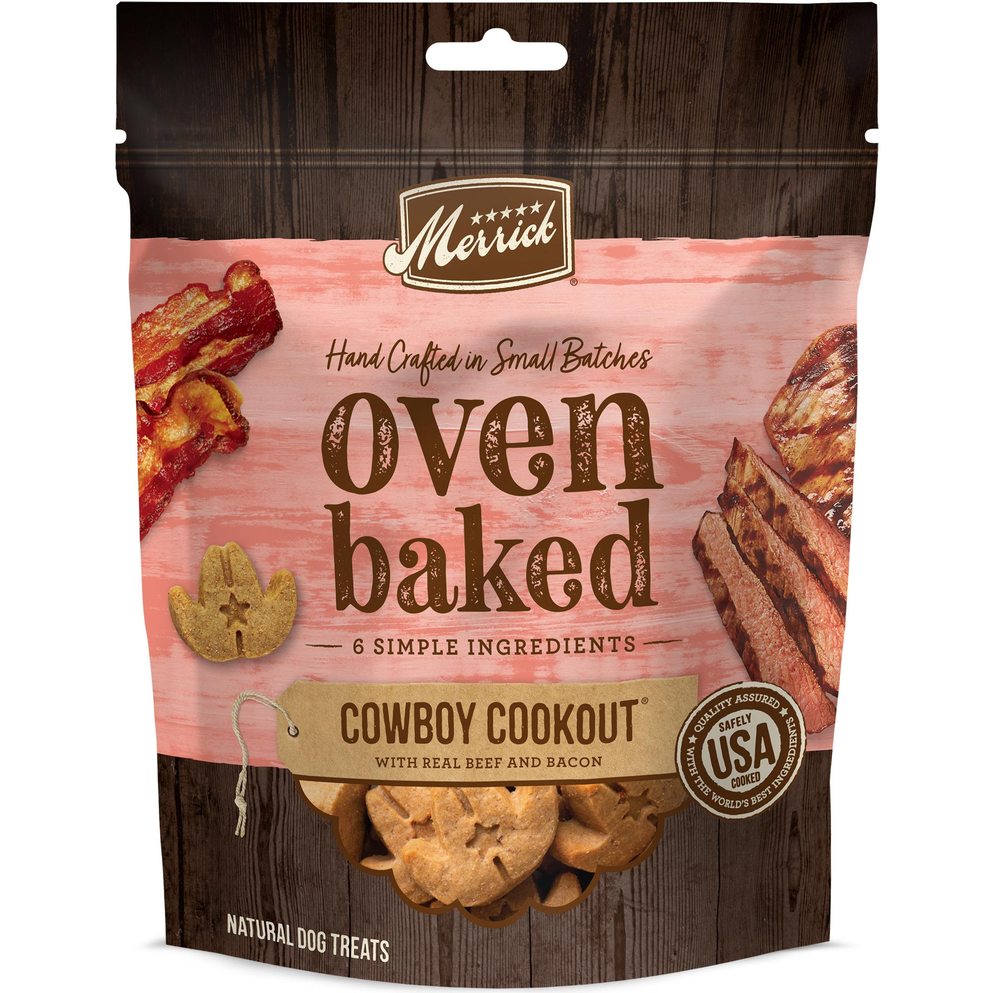 Merrick Oven Baked Cowboy Cookout Dog Treats Image