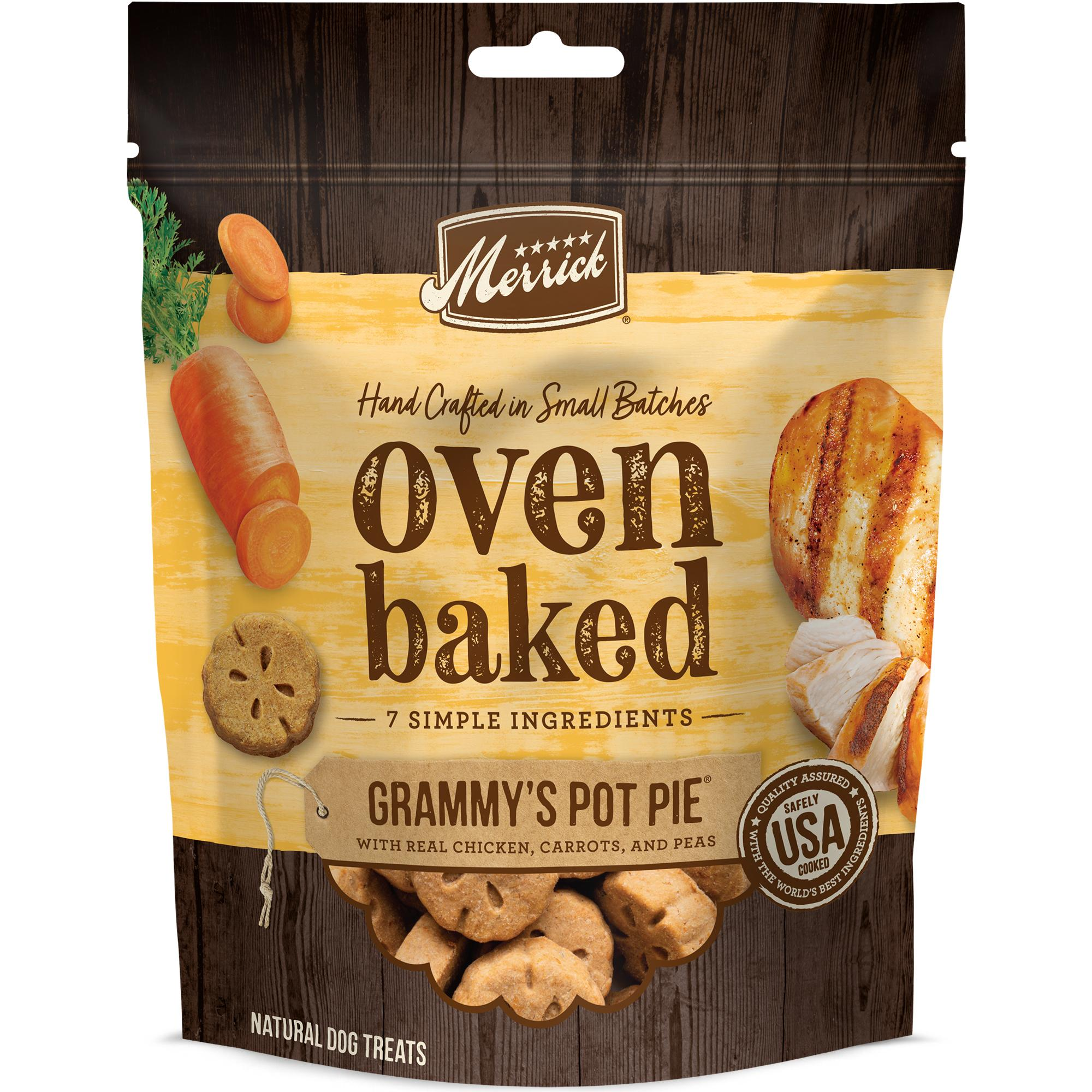 Merrick Oven Baked Grammy's Pot Pie Dog Treats, 11-oz