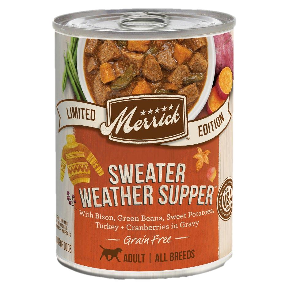 Merrick Sweater Weather Supper Wet Dog Food, 12.7-oz