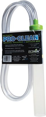 Python Pro-Clean Gravel Washer and Siphon Kit for Aquariums, Large