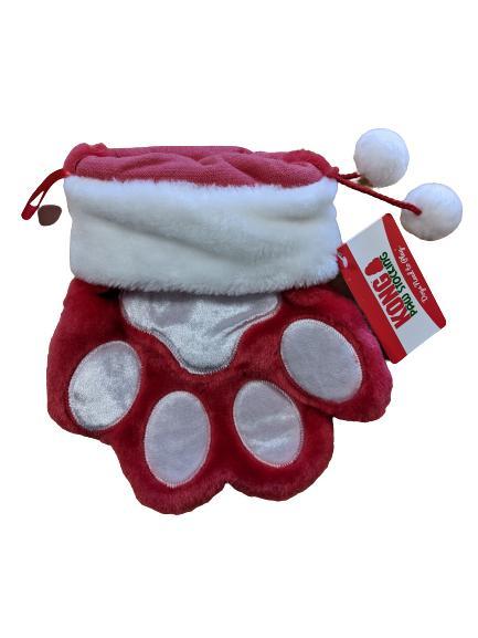 KONG Holiday Stocking Paw Dog Toy, Large