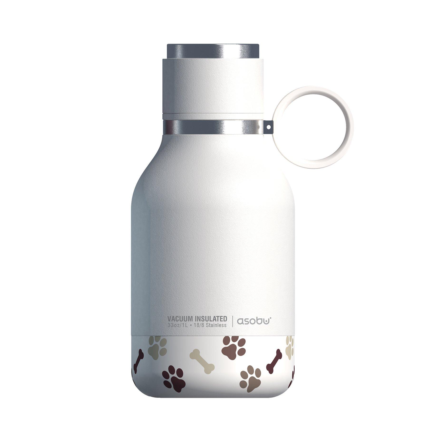 Asobu Dog Bowl Bottle, White