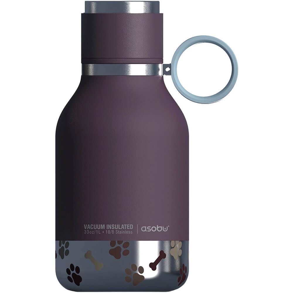 Asobu Dog Bowl Bottle, Purple
