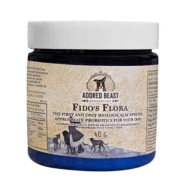 Adored Beast Fido's Flora Probiotics for Dogs, 40-gram