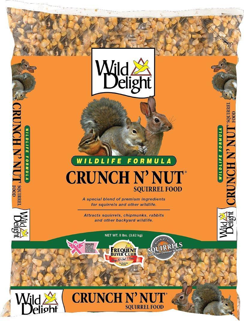 Wild Delight Crunch N' Nut Wild Animal Food, 8-lb