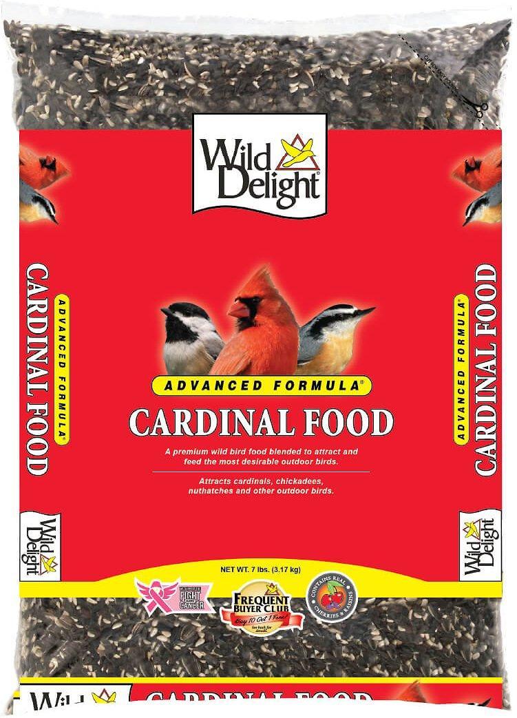 Wild Delight Cardinal Wild Bird Food, 7-lb