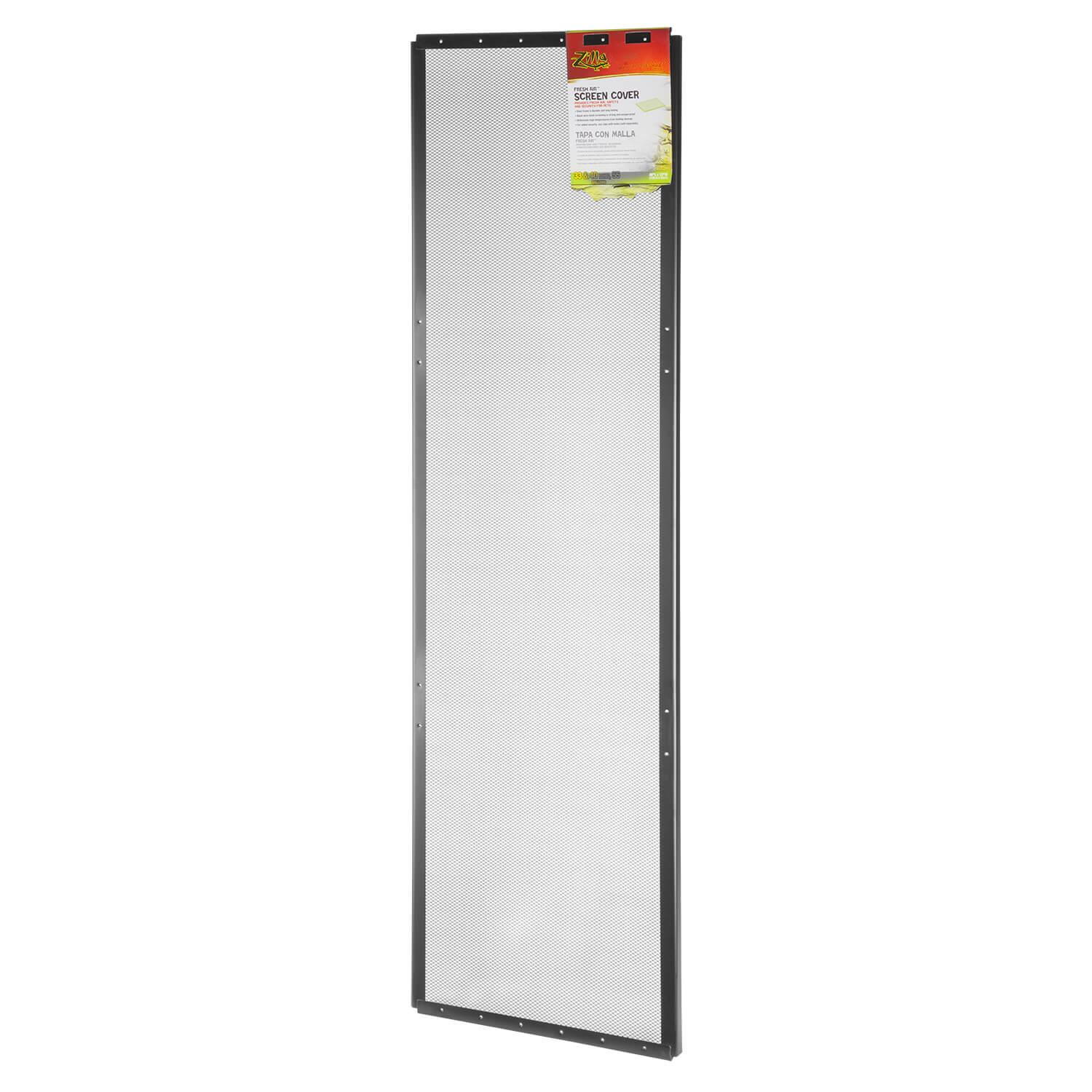 Zilla Fresh Air Screen Cover for Terrariums, 48-in x 13-in