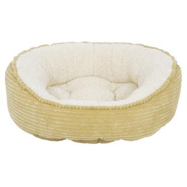 Arlee Pet Products Cody The Original Cuddler Pet Bed, Sand/Cream, 39-in x 30-in x 10-in