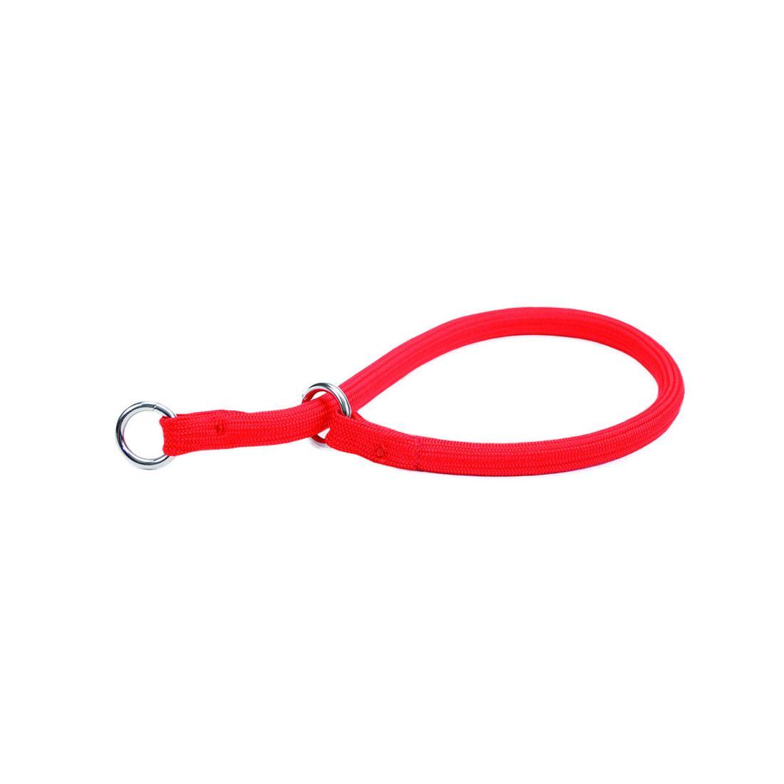 Coastal Round Nylon Dog Training Collar, Red Image