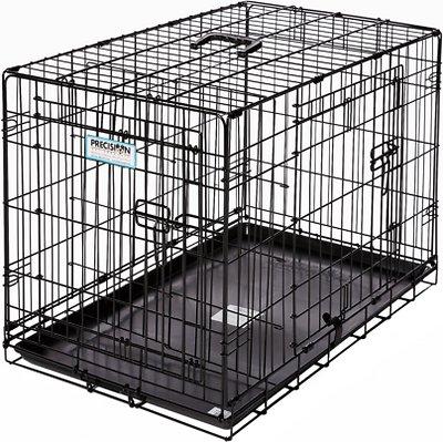 Precision Pet Provalu Double Door Dog Crate, 42 X 28 X 30