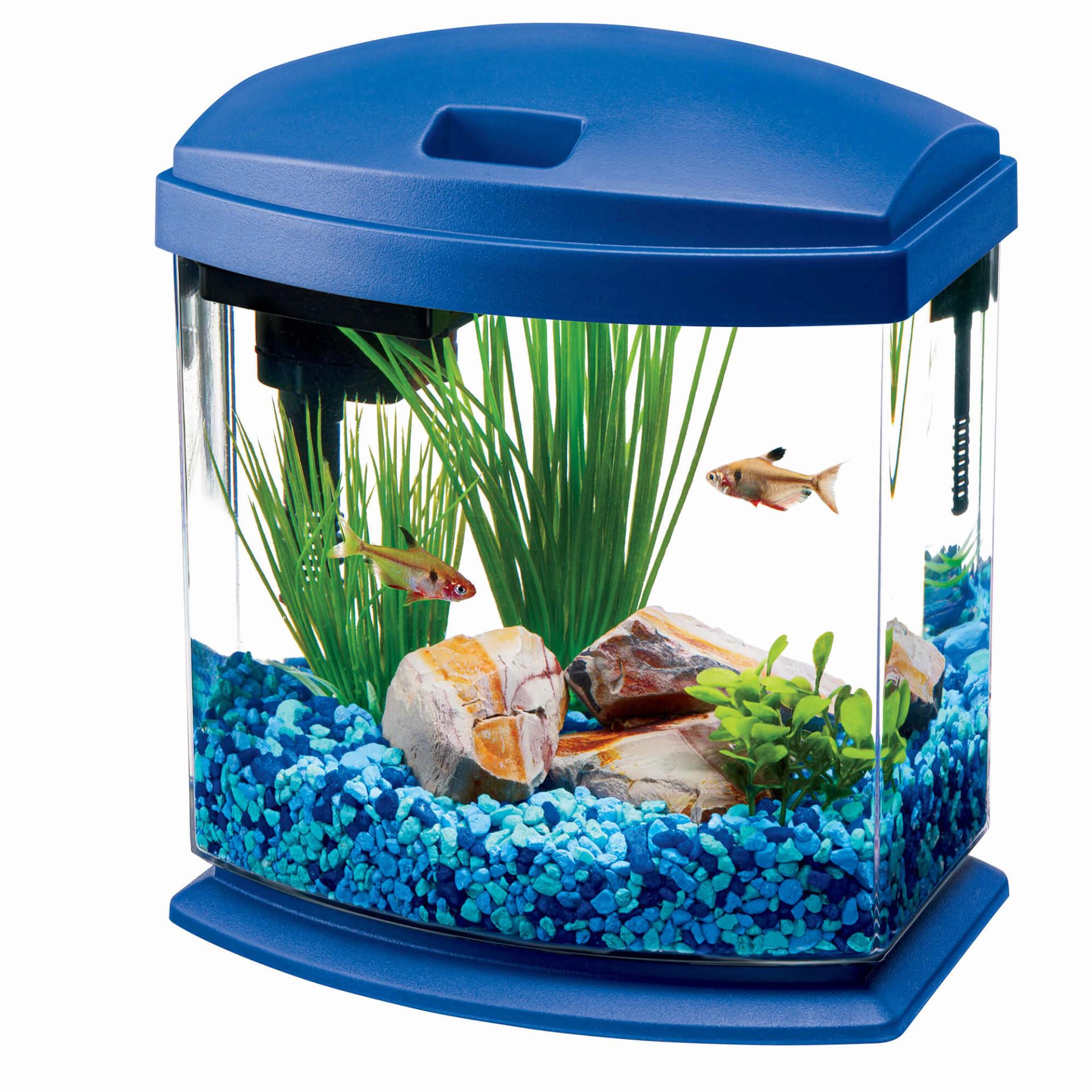Aqueon MiniBow Aquarium LED Kit, Blue