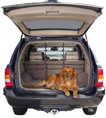 Precision Pet Universal Fit 6-Bar Dog & Cat Vehicle Barrier