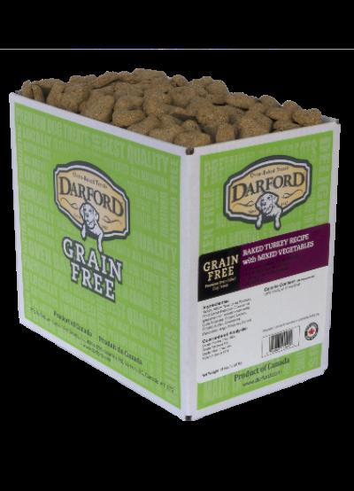 Darford Baked Turkey Recipe with Mixed Vegetables Grain-Free Dog Treats