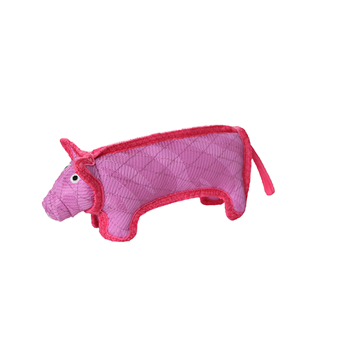 DuraForce Pig Dog Toy, Pink