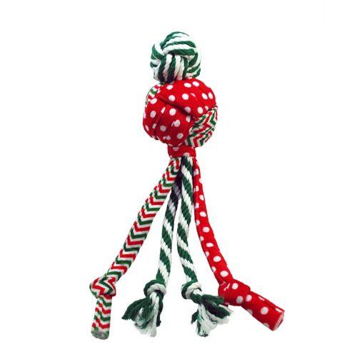 Kong Wubba Holiday Medley Dog Toys, Assorted Colors, Large