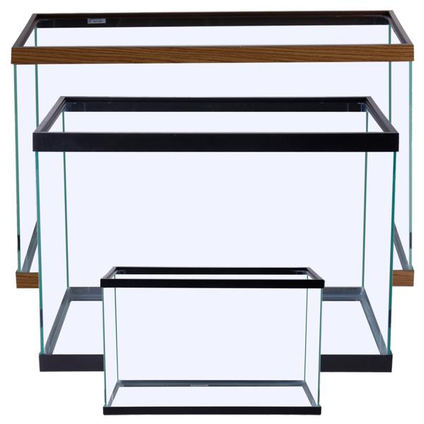 Marineland Standard Retangular Aquarium, Black