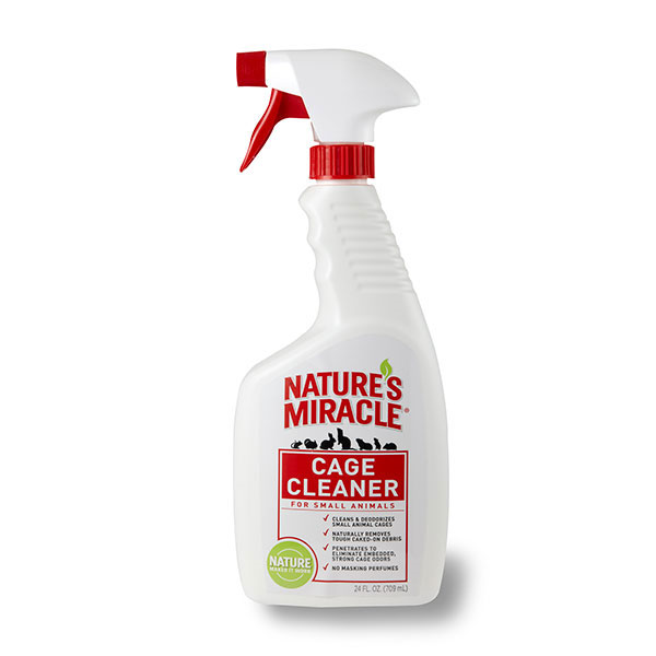Nature's Miracle Small Animal Cage Cleaner, 24-oz