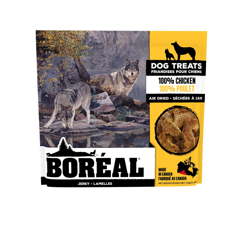Boreal 100% Chicken Jerky Dog Treats, 92-gram