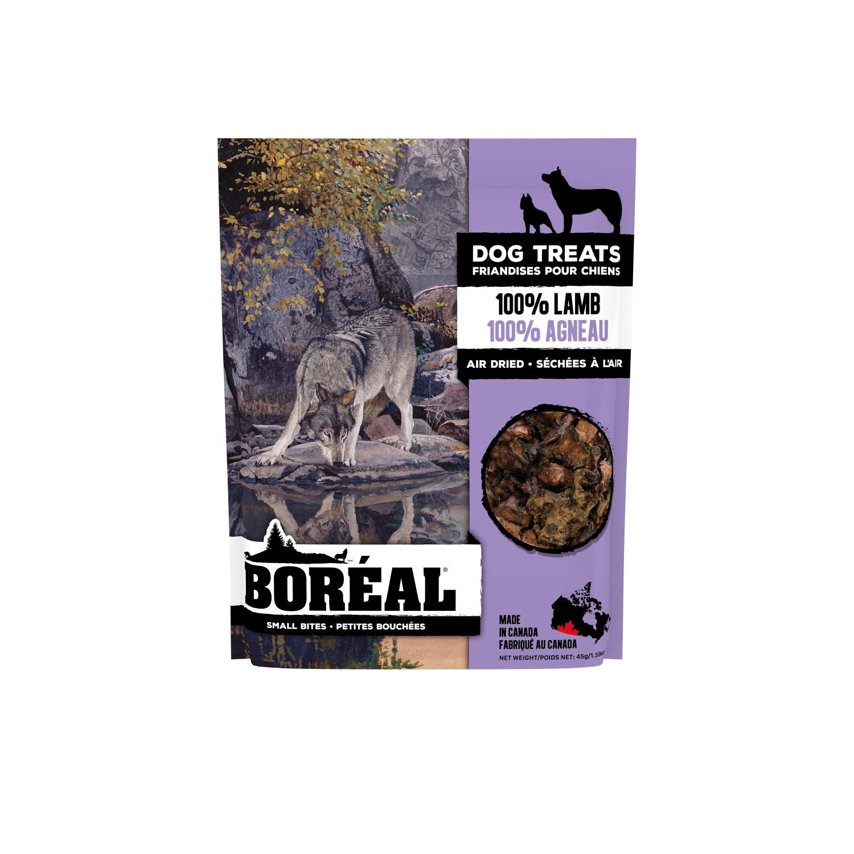 Boreal 100% Lamb Small Bites Dog Treats, 45-gram