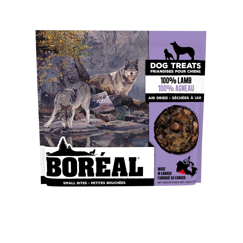 Boreal 100% Lamb Small Bites Dog Treats, 92-gram