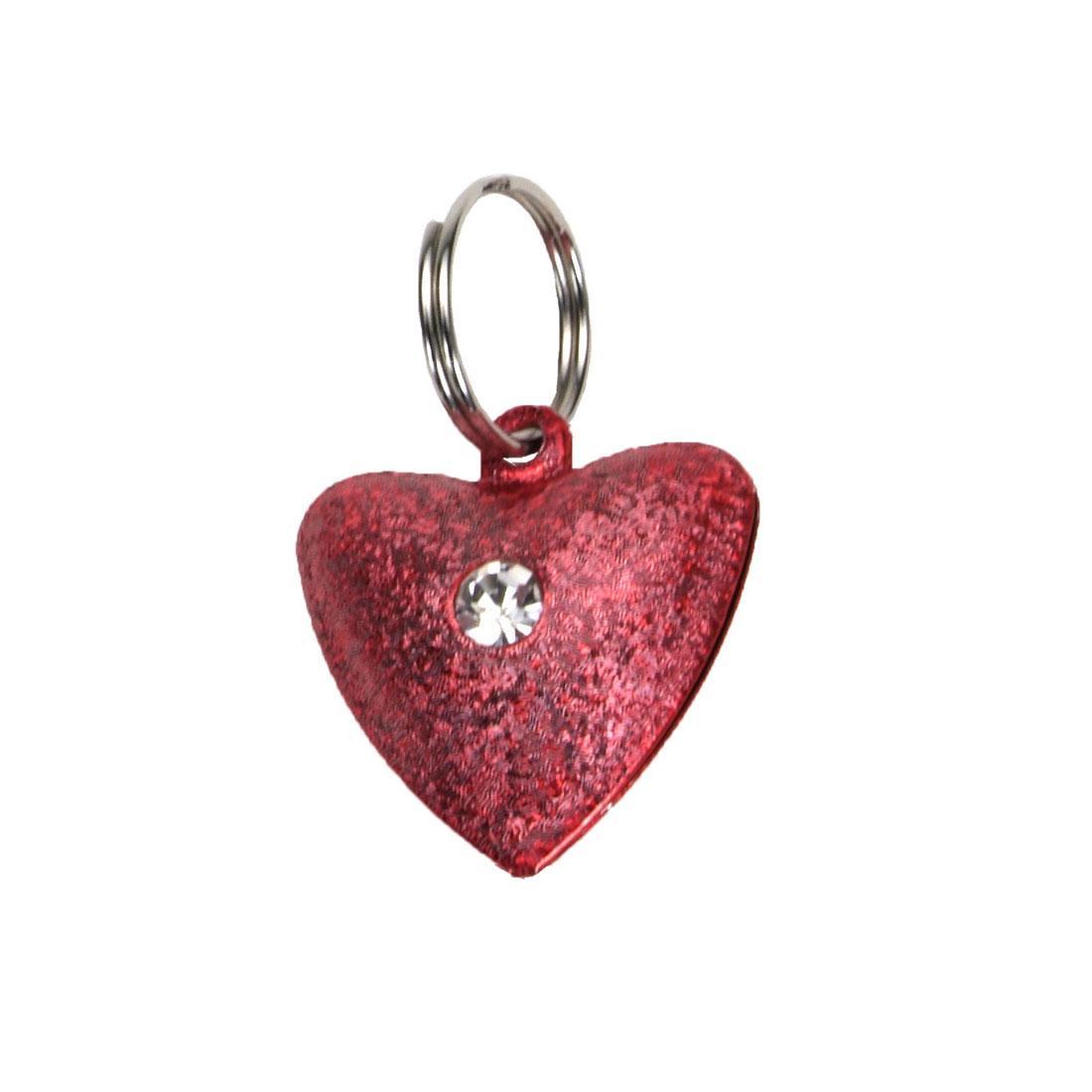 Coastal Frosted Designer Heart Cat Bells Image
