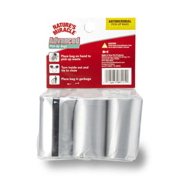 Nature's Miracle Advanced Potty Bags, 6-roll, 90 bag