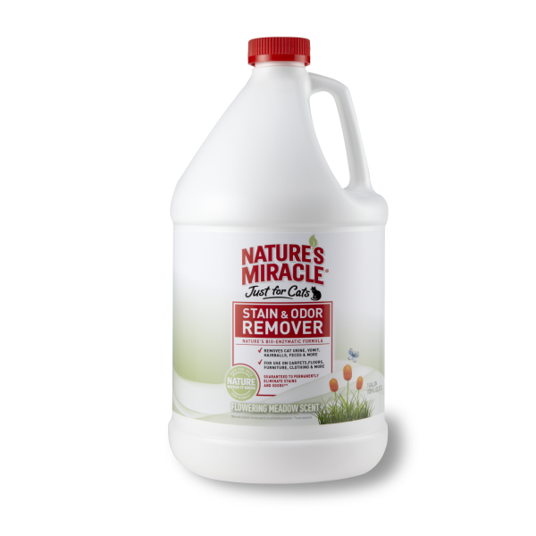 Nature's Miracle JFC Stain/Odor Remover Flower Scent, 1-gal