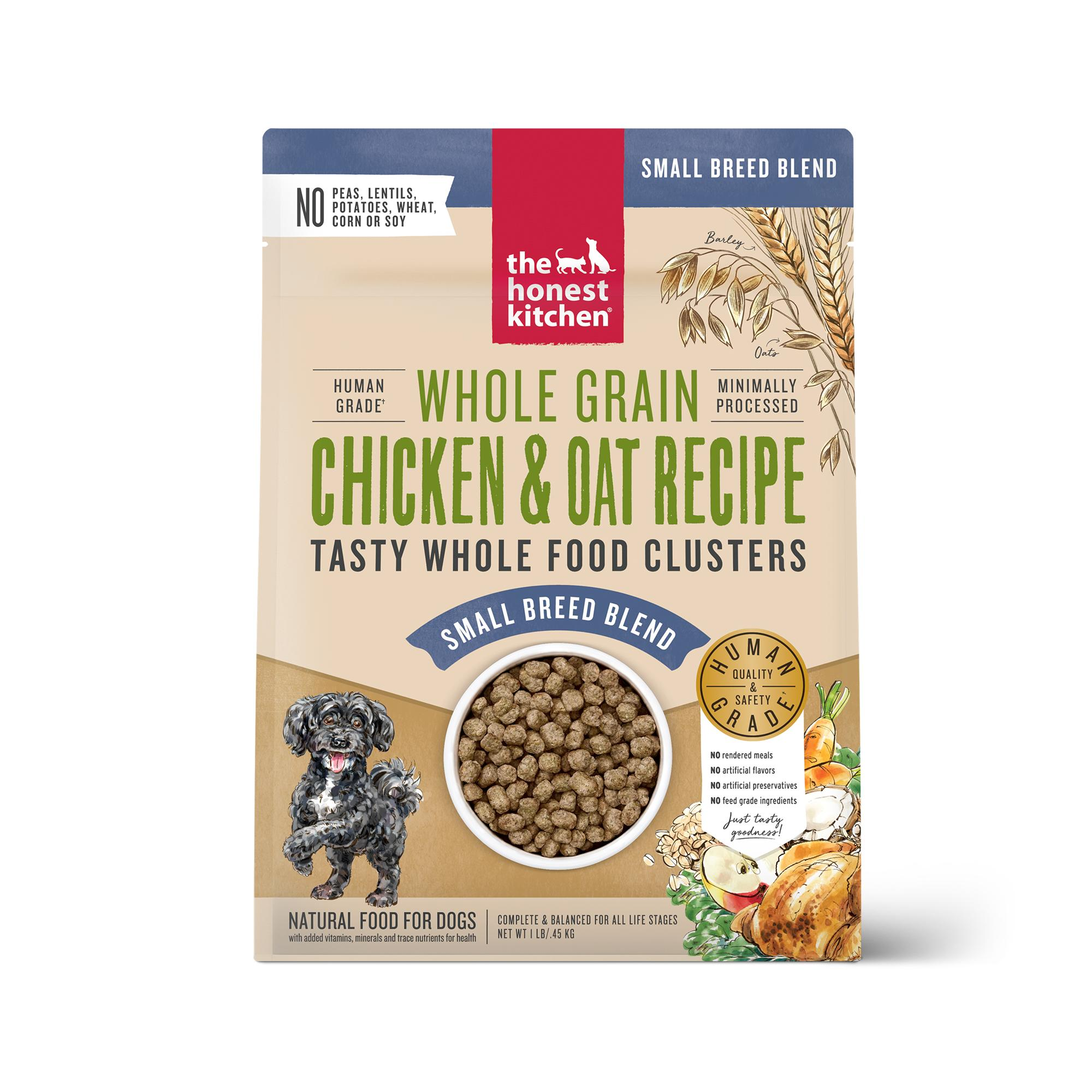 The Honest Kitchen Whole Food Clusters Chicken Small Breed Dry Dog Food, 1-lb